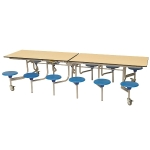 12 Seater Rectangular Folding Dining Table