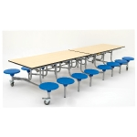 16 Seater Rectangular Folding Dining Table