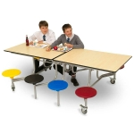 8 Seater Rectangular Folding Dining Table