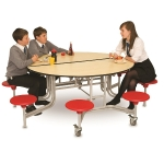 8 Seater Round Folding Dining Table